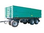 Oehler Dreiachs-Dreiseitenkipper:    Fahrwerk LKW Standard   BPW Achsen bis 60 Km/h   Mittelrungen mit Gummidic