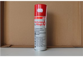Solo Wartungs- und Pflegeöl:    Universalspray dient als Schmiermittel, Reiniger, Wartungs-und Pflegeöl. Fe