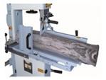 Oehler Bandsäge:   Kompakte, moderne Ausführung in stabiler Stahlkonstruktion  Fahreinrichtung