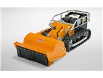 As Motor Schlegelmäher mit Fernsteuerung 750 RC:    Sie lenken und beobachten, der ferngesteuerte Schlegelmäher AS 750 RC mäht