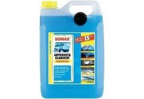 Antifrost & KlarSicht:   Das SONAX AntiFrost & KlarSicht Konzentrat verhindert das Einfrieren der Sch