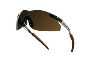 Schutzbrille DeltaPlus Thunder; Farbe: Bronze: Produkteigenschaften:   Schutzbrille DeltaPlus thunder bronze  Schutzbrille au