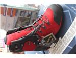 Schnittschutzstiefel Haix Protector Ultra signal-red:    Der sichere Schnittschutzstiefel aus Leder mit integrieter Stahlkappe,