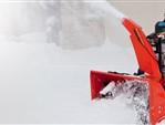 Schneefräsen mit Raupenantrieb